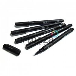 Рапидограф Uni PIN черный 0.8 мм. Купить лайнер - рапидограф Uni PIN fine line в Украине