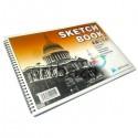 Скетчбук - альбом для эскизов SKETCH BOOK А3, 26 х 38 см., Maries