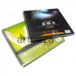 Альбом (скетчбук) для эскизов и зарисовок SKETCH BOOK А4, 250 х 260 мм., Maries