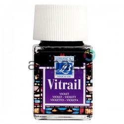 Витражная краска по стеклу и керамике, Фиолетовая, 50 мл., 601, Vitrail Lefranc&Bourgeois