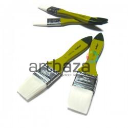 Кисть синтетическая, флейц плоская, 38.1 мм., Craftsy