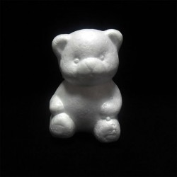 "Фигурка - заготовка из пенопласта ""Мишка"", 10 см."