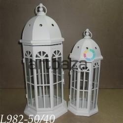 Подсвечник металлический подвесной, 2 штуки