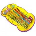 Набор карандашей с цветным грифелем, Magic, 6 шт. + точилка