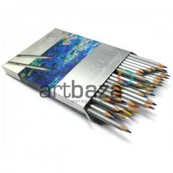 Карандаши цветные, шестигранные, 36 шт., Marco Raffine
