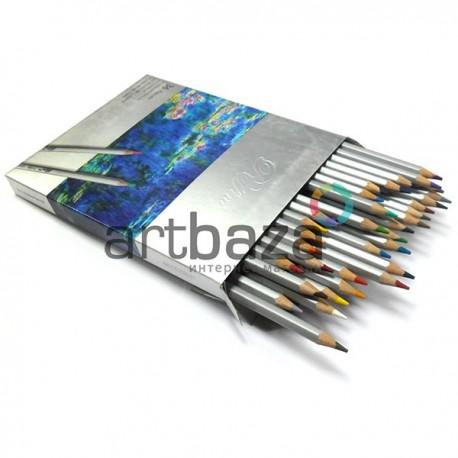 Профессиональные цветные карандаши, шестигранные на 36 цветов, Marco Raffine | 7100-36CB | 6951572904132