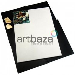 Холст грунтованый на подрамнике, р-р: 25x25 см., лён, 350 гр/м2