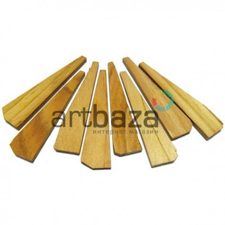 Клинья (колышки) для натяжения холста на подрамнике, 8 штук