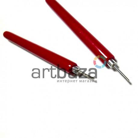 """Инструмент для квиллинга """"вилочка"""", с прорезиненной ручкой, REGINA"""