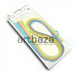 Набор бумаги для квиллинга, пастельные тона, 0.5 см. (100 полосок) №2