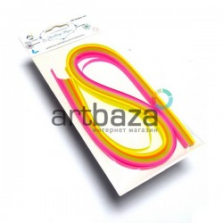 Набор бумаги для квиллинга, флуоресцентные тона, 0.5 см. (100 полосок) №3