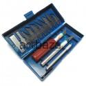 Набор макетных ножей (скальпелей) для линогравюры, 13 предметов, Hangyun Beaux-Art