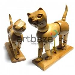 """Деревянный подвижный манекен """"Кошка"""" 6"""" (15.20 см.), Phoenix"""