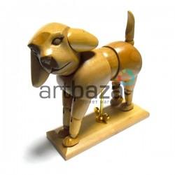 """Деревянный подвижный манекен """"Собака"""" 6"""" (15.20 см.), Phoenix"""