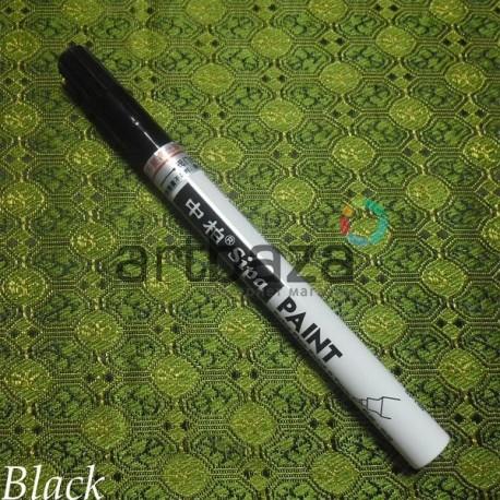 Масляный маркер - краска, black, 0.7 мм., SIPA
