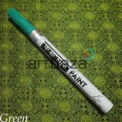 Масляный маркер - краска, green, 0.7 мм., SIPA