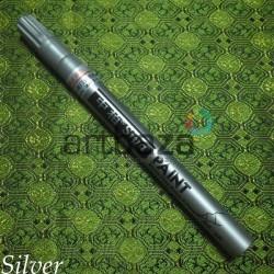 Масляный маркер - краска, silver, 0.7 мм., SIPA