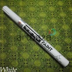 Масляный маркер - краска, white, 0.7 мм., SIPA