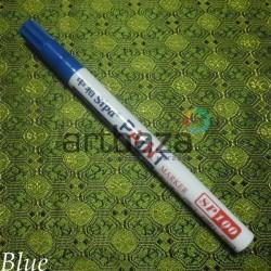 Масляный маркер - краска, blue, 2 мм., SIPA