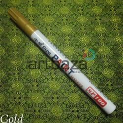 Масляный маркер - краска, gold, 2 мм., SIPA