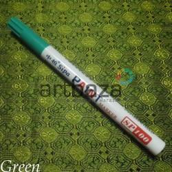 Масляный маркер - краска, green, 2 мм., SIPA
