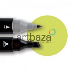 Маркер Touch Twin, 49 pastel green, ShinHan