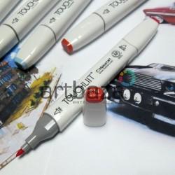 Маркер-копик TouchLiit Twin Marker, R14 vermilion, Maieart Art