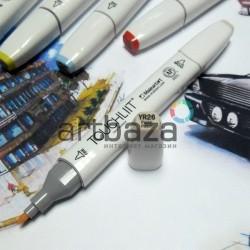 Маркер-копик TouchLiit Twin Marker, YR26 pastel peach, Maieart Art