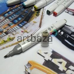 Маркер-копик TouchLiit Twin Marker, Y169 putty, Maieart Art