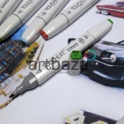 Маркер-копик TouchLiit Twin Marker, GY47 grass green, Maieart Art