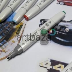 Маркер-копик TouchLiit Twin Marker, G46 vivid green, Maieart Art