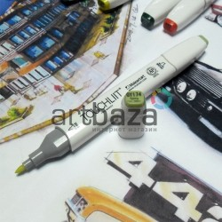 Маркер-копик TouchLiit Twin Marker, GY174 spring dim green, Maieart Art