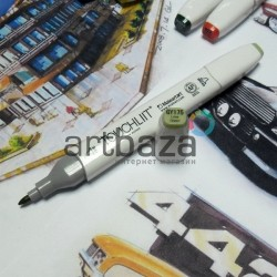 Маркер-копик TouchLiit Twin Marker, GY175 lime green, Maieart Art
