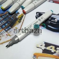 Маркер-копик TouchLiit Twin Marker, BG57 turquoise green light, Maieart Art