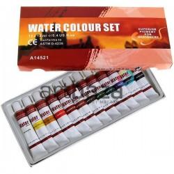 Краски акварельные художественные, 12 цветов по 12 мл., CONDA