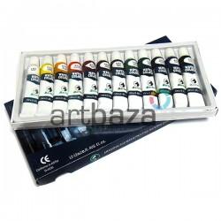 Набор художественных акварельных красок, 12 цветов по 12 мл., Martol