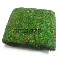 Мох искусственный зеленый для декорирования и флористики