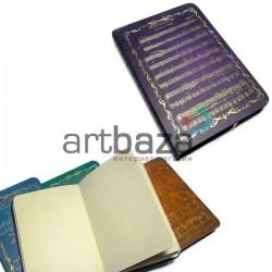 """Блокнот """"Soundtrack"""" фиолетовый, 90 х 130 мм., 96 листов, YASAC"""