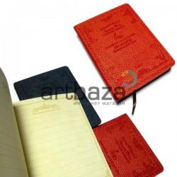 """Блокнот """"Vintage Garden"""" красный, 84 х 112 мм., 128 листов, YASAC"""