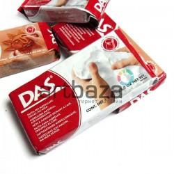 Глина (паста) для моделирования белая 1 кг., DAS