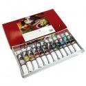 Набор художественных гуашевых красок, 12 цветов по 12 мл., Maries