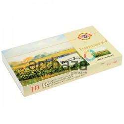 Набор художественных масляных красок IMPRESSION, 10 цветов по 16 мл., Koh-I-Noor