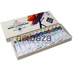 Набор художественных масляных красок Мастер Класс 1141001 ЗХК Невская Палитра для художественной живописи купить в Киеве