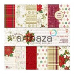 """Набор бумаги для скрапбукинга """"Рождество First Noel"""", Docrafts"""