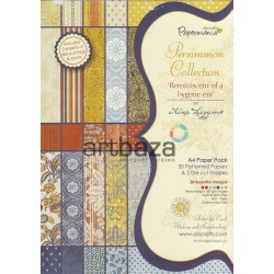 "Набор бумаги для скрапбукинга ""Persimmon Collection Paper Pack by Lina Liggins"", Papermania"