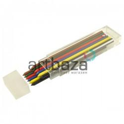 Цветные стержни (грифеля) для цанговых карандашей Ø3.2 мм., SKALA, Koh-I-Noor