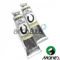 Краска художественная масляная, белила китайские (цинковые), 103, туба 50 мл., Maries