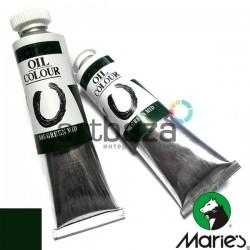 Краска художественная масляная, зеленый средний, 505, туба 50 мл., Maries