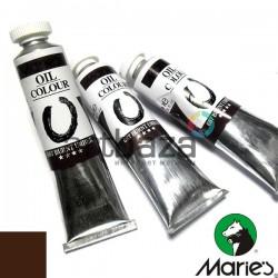Краска художественная масляная, умбра жженая, 687, туба 50 мл., Maries