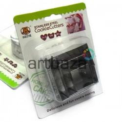 Набор металлических каттеров (пресс - формы для вырезания) для полимерной мастики в интернет магазине